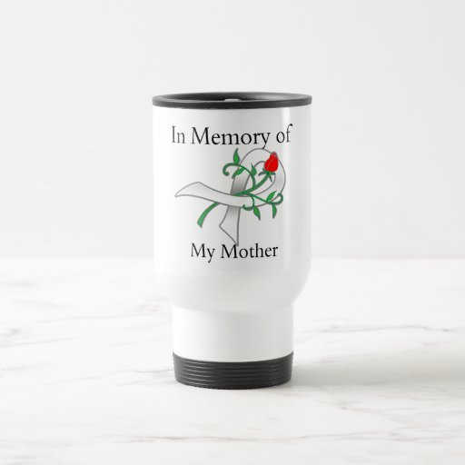 In Memory of My Mother - Lung Cancer Coffee Mug