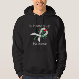 In Memory of My Mother - Lung Cancer Hoodie