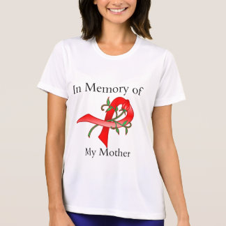 In Memory of My Mother - Stroke Disease T Shirts