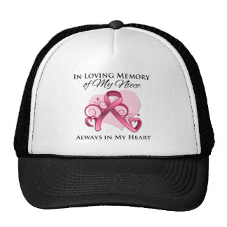 In Memory of My Niece - Breast Cancer Trucker Hat