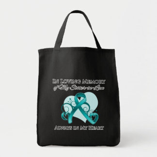 In Memory of My Sister-in-Law - Ovarian Cancer Bag