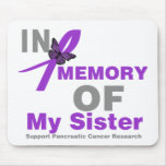 In Memory of My Sister Pancreatic Cancer Mousepad