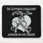 In Memory of My Son - Brain Cancer Mouse Pad