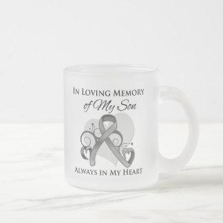 In Memory of My Son - Brain Cancer Coffee Mug