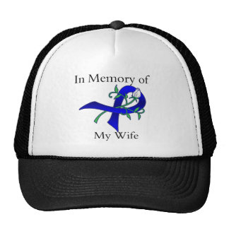 In Memory of My Wife - Colon Cancer Hat