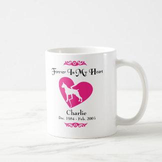 In Memory Of - Pet Dog Memorial - Boxer Coffee Mug