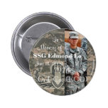 In Memory of SSG Edmond Lo 797th Ord. Co. EOD Pinback Buttons