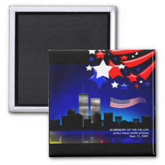 In Memory of the Fallen Sept 11 Memorial Magnet