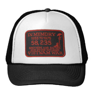 IN MEMORY OF TRUCKER HAT