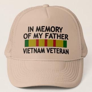 In Memory Of Vietnam Veteran Khaki Cap