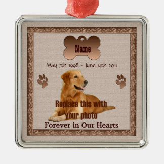 In Memory of Your Dog Christmas Ornaments