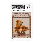 In Memory of Your Dog Postage