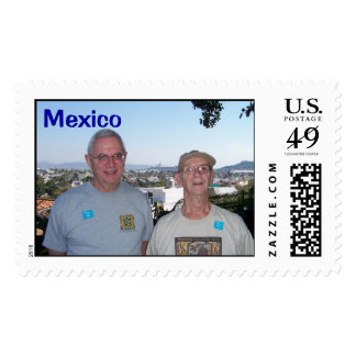 In Mexico Postage Stamp