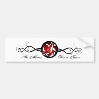 In Motion Medal Vine Bumper Stickers