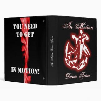 In Motion Notebook Binder