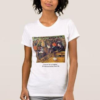"""In Moulin De La Galette """",  By Toulouse-Lautrec Tshirt"""