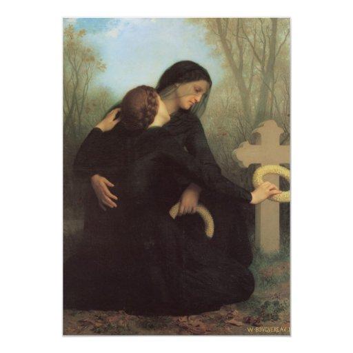 In Mourning Custom Invites