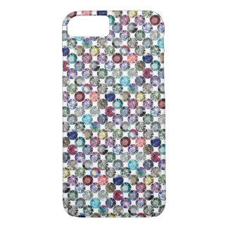 in multicolour rainbow iPhone 8/7 case