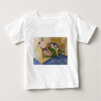 In Mum's Bed 1908 Baby T-Shirt