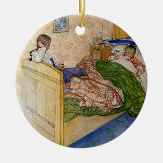 In Mum's Bed 1908 Ceramic Ornament