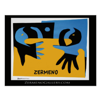 """""""In my Arms"""" by Zermeno Poster"""