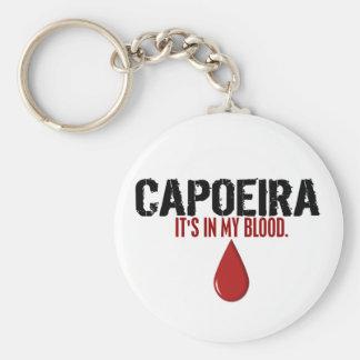 In My Blood CAPOEIRA Basic Round Button Keychain