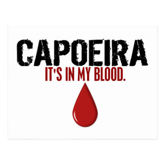 In My Blood CAPOEIRA Postcard