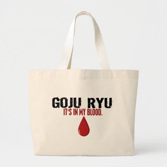 In My Blood GOJU RYU Large Tote Bag