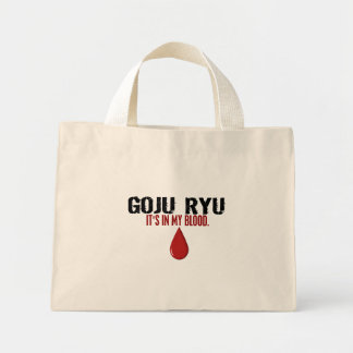 In My Blood GOJU RYU Mini Tote Bag