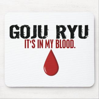 In My Blood GOJU RYU Mouse Pad