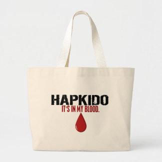 In My Blood HAPKIDO Jumbo Tote Bag