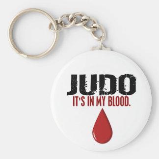 In My Blood JUDO Keychain