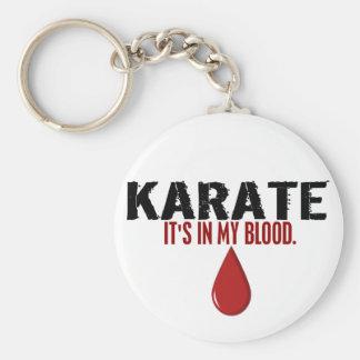 In My Blood KARATE Keychain