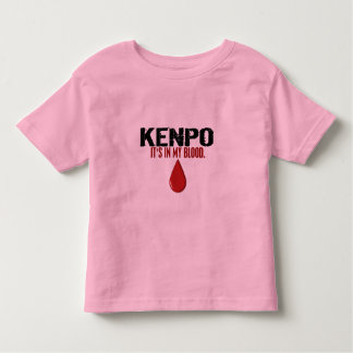 In My Blood KENPO Tshirt