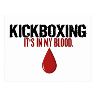 In My Blood KICKBOXING Postcard
