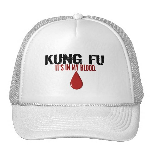 In My Blood KUNG FU Trucker Hat
