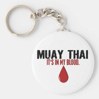 In My Blood MUAY THAI Keychain