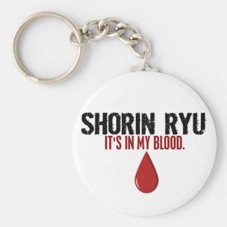 In My Blood SHORIN RYU Basic Round Button Keychain