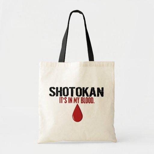 In My Blood SHOTOKAN Budget Tote Bag