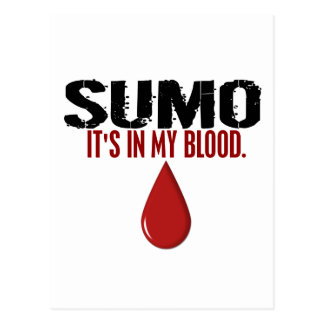 In My Blood SUMO Postcard