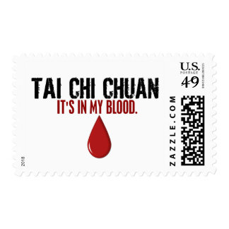 In My Blood TAI CHI CHUAN Postage Stamps