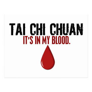 In My Blood TAI CHI CHUAN Post Cards