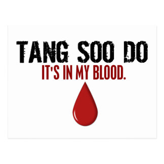 In My Blood TANG SOO DO Postcards