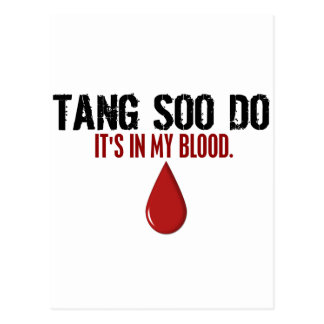 In My Blood TANG SOO DO Postcard