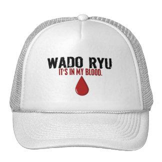 In My Blood WADO RYU Trucker Hats