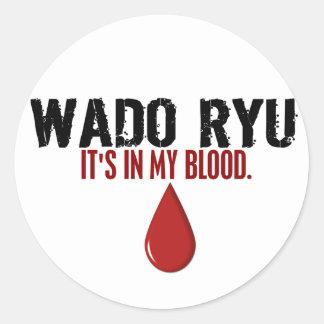 In My Blood WADO RYU Stickers