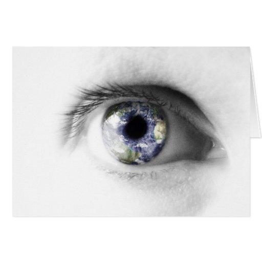 In my eye cards