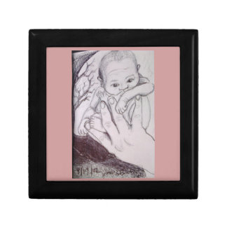 In My Father's Hand Pink Baby Gift Box