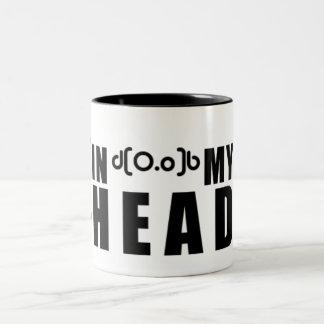 In my Head Logomug Two-Tone Coffee Mug