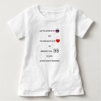 In My Heart Series Baby Romper
